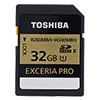 Toshiba announces 240MB/s write speed Exceria Pro SDHC cards